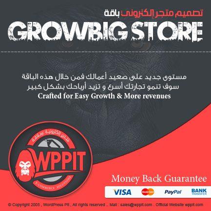 تصميم متجر إلكترونى إحترافى يشمل أدوات البيع و الشراء عبر الإنترنت