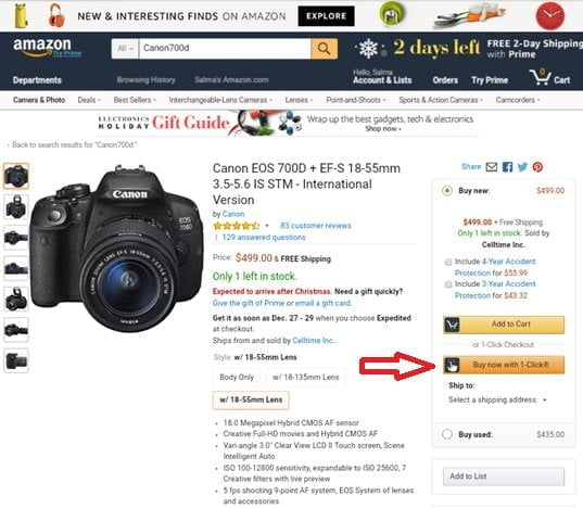 الشراء عبر موقع أمازون, بالخطوات كيفية التسوق والشراء عبر موقع أمازون, wppit