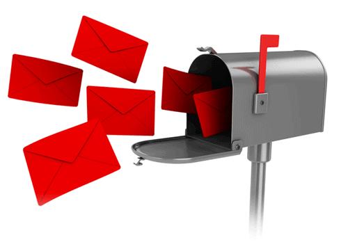 كيفية ارسال الاف الايميلات دفعة واحدة للوصول إلى البريد الوارد