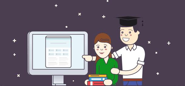 مشروع موقع تعليم أون لاين