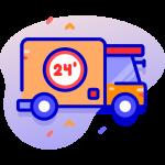 يمكنك طلب إنشاء شركة الشحن الخاصة بمتجرك و برمجة نظام تسجيل السائقين و شحن منتجات المتجر عبر نظام شحن محلى خاص .
